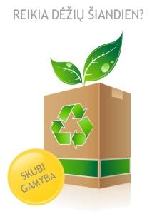 Skubi pakavimo dėžių gamyba pagal kliento išmatavimus