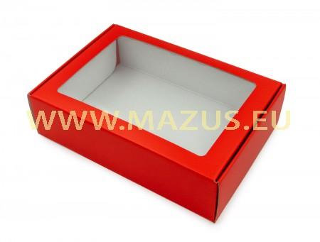 Raudona dovanų dėžė