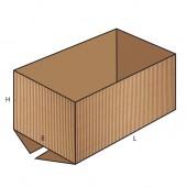 FEFCO 0200 dėžės modelis