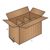 FEFCO 0207 dėžės modelis