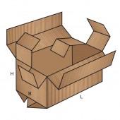 FEFCO 0208 dėžės modelis