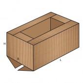 FEFCO 0209 dėžės modelis