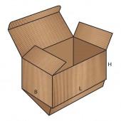 FEFCO 0210 dėžės modelis