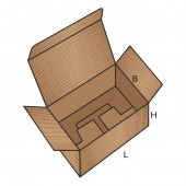 FEFCO 0215 dėžės modelis