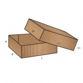 FEFCO 0300 dėžės modelis