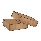 FEFCO 0301 dėžės modelis