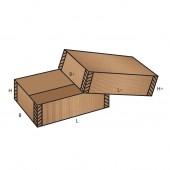 FEFCO 0302 dėžės modelis