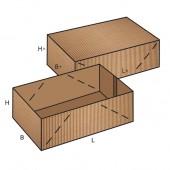 FEFCO 0303 dėžės modelis