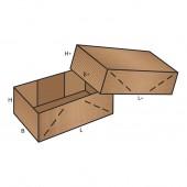 FEFCO 0304 dėžės modelis