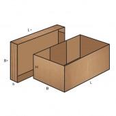 FEFCO 0306 dėžės modelis