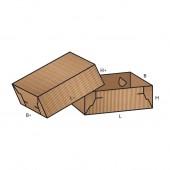 FEFCO 0307 dėžės modelis