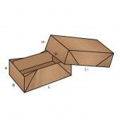 FEFCO 0309 dėžės modelis