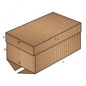 FEFCO 0312 dėžės modelis