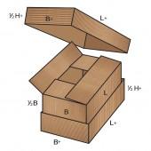 FEFCO 0313 dėžės modelis