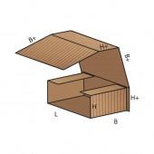 FEFCO 0400 dėžės modelis