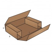 FEFCO 0403 dėžės modelis