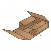 FEFCO 0405 dėžės modelis