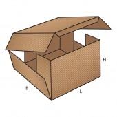 FEFCO 0406 dėžės modelis
