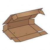 FEFCO 0409 dėžės modelis