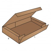 FEFCO 0413 dėžės modelis