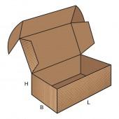 FEFCO 0427 dėžės modelis