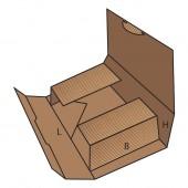 FEFCO 0473 dėžės modelis