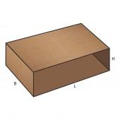 FEFCO 0502 dėžės modelis