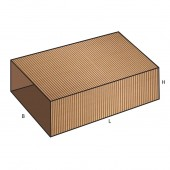 FEFCO 0503 dėžės modelis