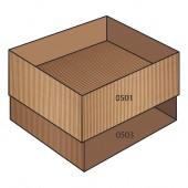 FEFCO 0507 dėžės modelis