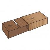 FEFCO 0509 dėžės modelis