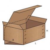 FEFCO 0511 dėžės modelis