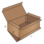 FEFCO 0512 dėžės modelis