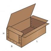FEFCO 0601 dėžės modelis