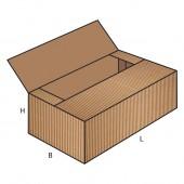 FEFCO 0605 dėžės modelis