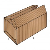 FEFCO 0606 dėžės modelis