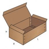 FEFCO 0608 dėžės modelis