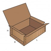 FEFCO 0610 dėžės modelis