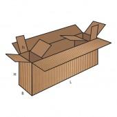 FEFCO 0621 dėžės modelis