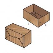 FEFCO 0700 dėžės modelis