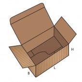 FEFCO 0713 dėžės modelis