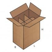 FEFCO 0715 dėžės modelis