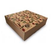 Natūralistinė pavyzdžių dėžė su spalvota spauda
