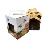 Medaus dėžutės su rankena