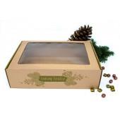 a4 formato kalėdinė žalia dėžė