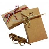 Kraft kartono dėžutė dovanų pakavimui