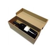 Vyno dėžė iš gofruoto kartono
