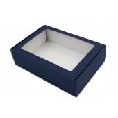 A4 size blue gift box